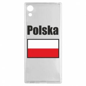 Etui na Sony Xperia XA1 Polska i flaga