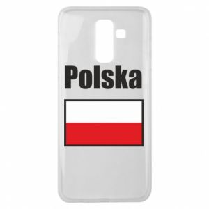 Etui na Samsung J8 2018 Polska i flaga