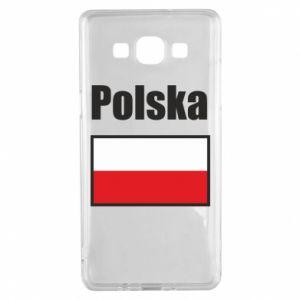 Etui na Samsung A5 2015 Polska i flaga