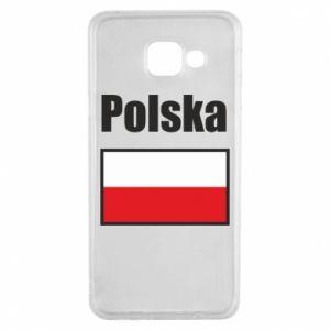 Etui na Samsung A3 2016 Polska i flaga