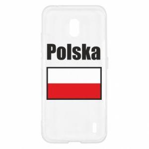 Etui na Nokia 2.2 Polska i flaga