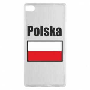 Etui na Huawei P8 Polska i flaga