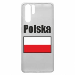 Etui na Huawei P30 Pro Polska i flaga