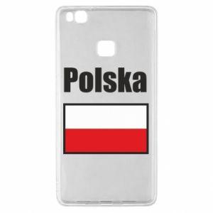 Etui na Huawei P9 Lite Polska i flaga