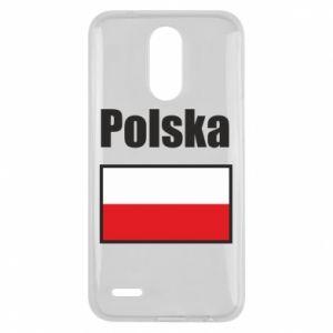 Etui na Lg K10 2017 Polska i flaga