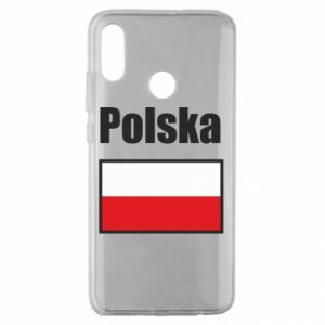 Etui na Huawei Honor 10 Lite Polska i flaga