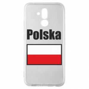 Etui na Huawei Mate 20 Lite Polska i flaga