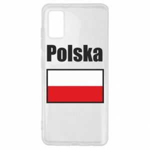 Etui na Samsung A41 Polska i flaga