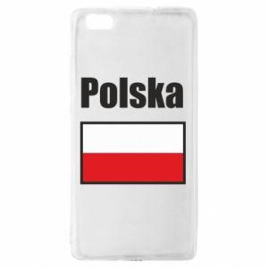 Etui na Huawei P 8 Lite Polska i flaga