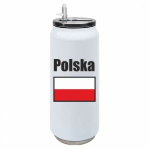 Puszka termiczna Polska i flaga