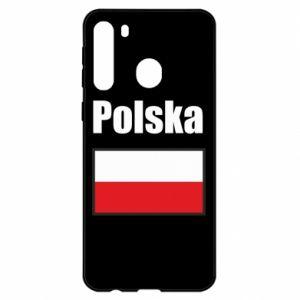 Etui na Samsung A21 Polska i flaga