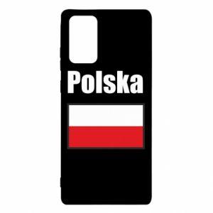 Etui na Samsung Note 20 Polska i flaga