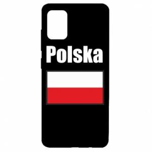 Etui na Samsung A51 Polska i flaga