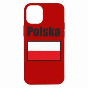 Etui na iPhone 12 Mini Polska i flaga