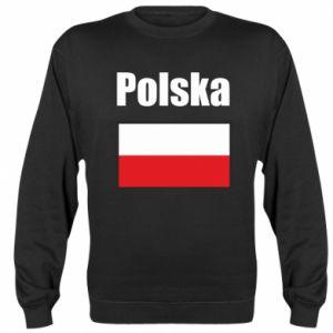 Bluza (raglan) Polska i flaga