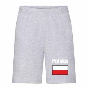 Szorty męskie Polska i flaga