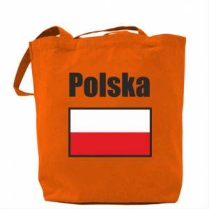 Torba Polska i flaga