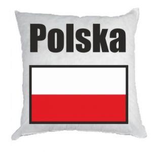 Poduszka Polska i flaga