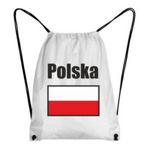 Plecak-worek Polska i flaga