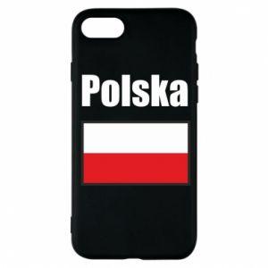 Etui na iPhone 7 Polska i flaga