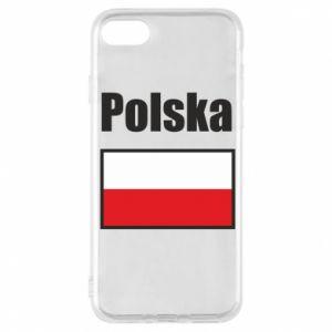 Etui na iPhone 8 Polska i flaga