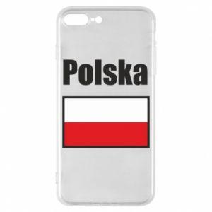 Etui na iPhone 8 Plus Polska i flaga