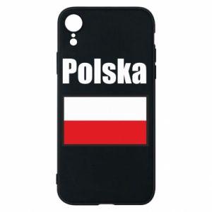 Etui na iPhone XR Polska i flaga