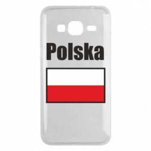 Etui na Samsung J3 2016 Polska i flaga