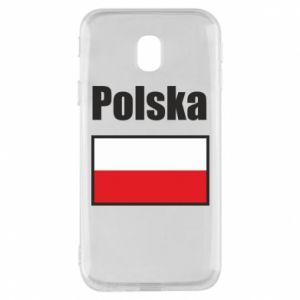 Etui na Samsung J3 2017 Polska i flaga