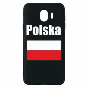 Etui na Samsung J4 Polska i flaga