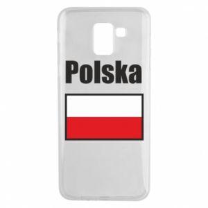 Etui na Samsung J6 Polska i flaga