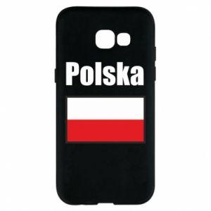 Etui na Samsung A5 2017 Polska i flaga