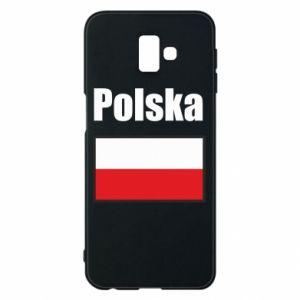 Etui na Samsung J6 Plus 2018 Polska i flaga