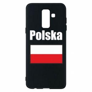 Etui na Samsung A6+ 2018 Polska i flaga