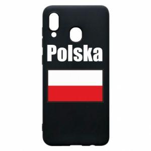 Etui na Samsung A20 Polska i flaga