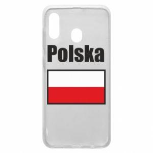 Etui na Samsung A30 Polska i flaga