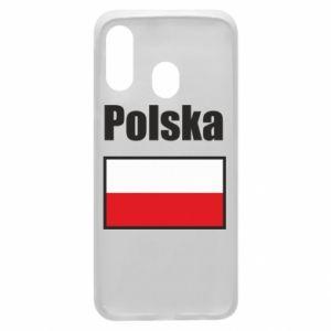 Etui na Samsung A40 Polska i flaga