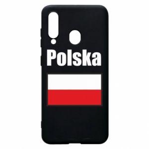 Etui na Samsung A60 Polska i flaga
