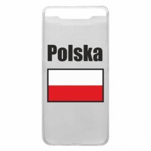 Etui na Samsung A80 Polska i flaga