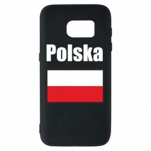 Etui na Samsung S7 Polska i flaga