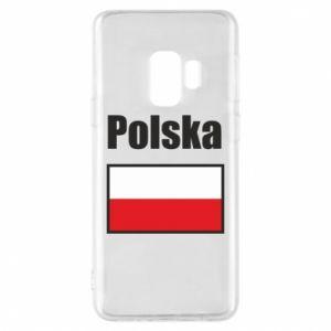 Etui na Samsung S9 Polska i flaga