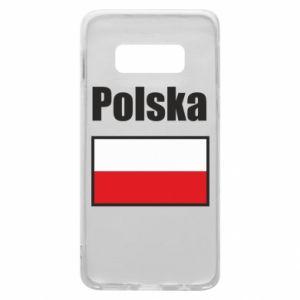 Etui na Samsung S10e Polska i flaga