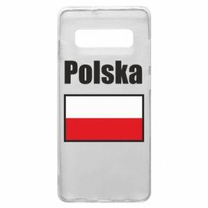 Etui na Samsung S10+ Polska i flaga