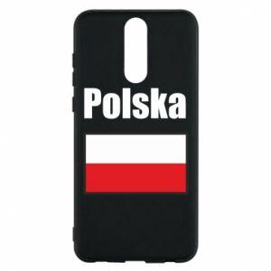 Etui na Huawei Mate 10 Lite Polska i flaga