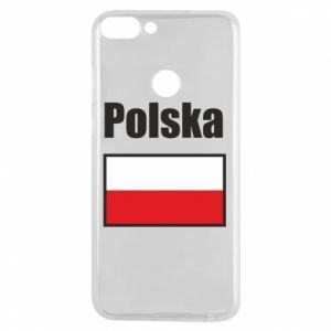 Etui na Huawei P Smart Polska i flaga
