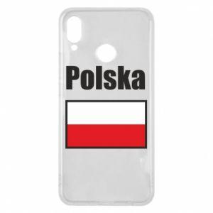 Etui na Huawei P Smart Plus Polska i flaga
