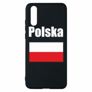 Etui na Huawei P20 Polska i flaga