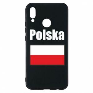Etui na Huawei P20 Lite Polska i flaga