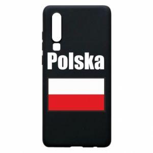 Etui na Huawei P30 Polska i flaga