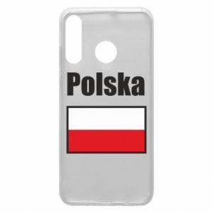 Etui na Huawei P30 Lite Polska i flaga